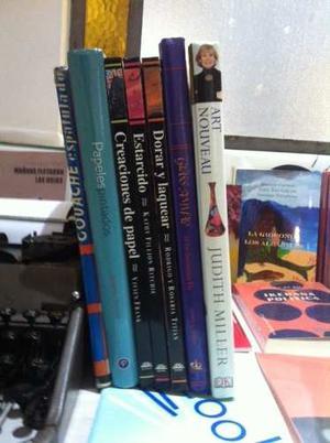 Oportunidad Lote 7 Libros De Arte Tecnicas Excelente Estado