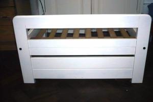 Sofa de madera DE CEDRO PINTADA DE BLANCO