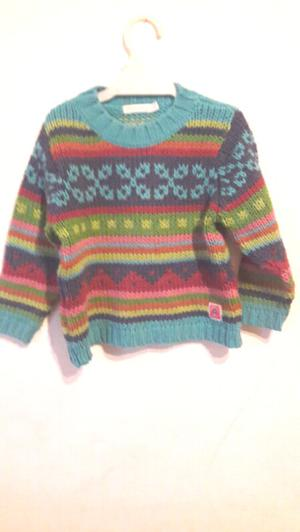 Sweter colorido nenas Mimmo & Co talle 4