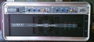 Vendo Potencia Crest  Watts RMS + Divisor de frecuencia