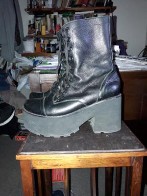 botas de vestir de cuero