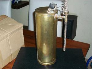 fumigador de bronce