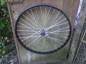 llanta de bicicleta rodado 26 de aluminio delantera