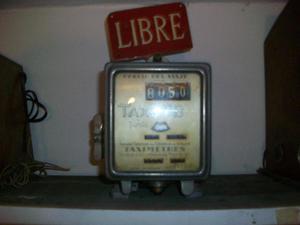 reloj de taxi antiguo francés