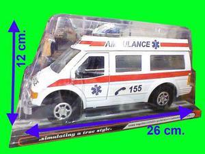 Ambulancia A Friccion Abre Puertas En Villa Devoto