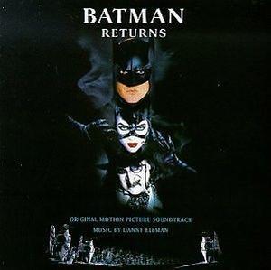 Batman Returns. Cd Banda De Sonido Descatalogada Importada.