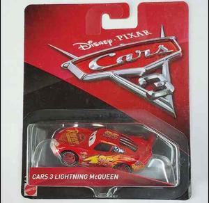 Cars 3 Modelos Varios En Blisters Cerrados Original Mattel