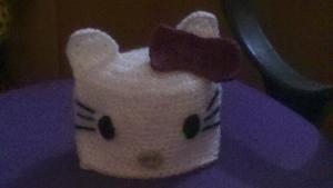 Gorro Kitty crochet