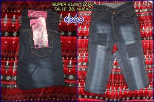 Jeans Super Elastizados! Nuevos, talle 38 y 40