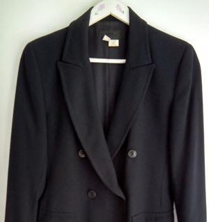 "Saco azul de la marca ""Zara"""