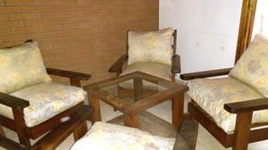 Se venden sillones de algarrobo