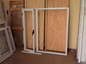 Ventanas de aluminio linea modena con vidrio posot class for Fabrica de aberturas de aluminio