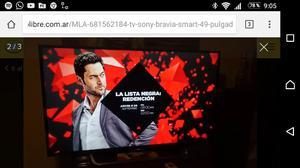 Tv Led Sony Bravia 49 pulgadas 4K con Android tv