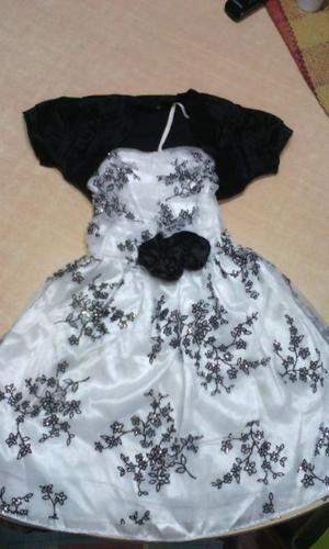 Vendo Vestido de fiesta y chalequito