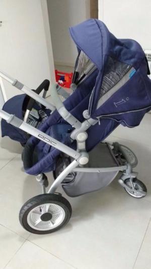 Vendo coche Infanti EPI con accesorio para auto
