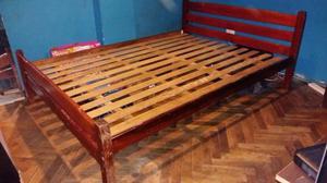 cama de dos plaza usada