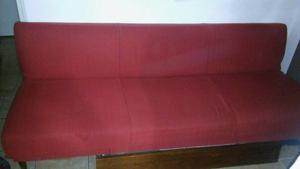 diván cama vintage, muy bueno, con baúl guard