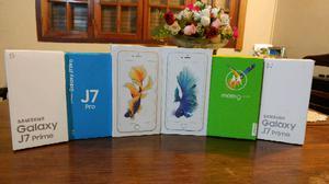 A. llegaron Nuevos cel Iphone y Samsung