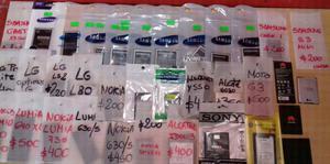 Baterias originales para Celulares
