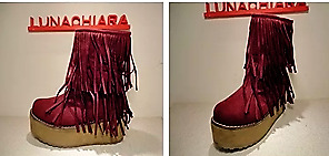 Botas Luna Chiara Con Flecos Bord