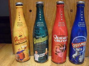 Botellas Quilmes - Edicion Limitada Milenio - Lote De 4