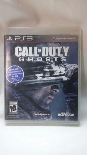 Juego Fisico Playstation 3 - Call Of Duty Ghost