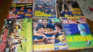 Lote Revistas El Grafico Y Ole De Boca!!!! - Regalo!!!!!!!