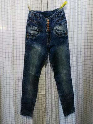 Pantalón de jean Azul