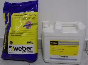 Weber iggam impermeable pegamento ceramica posot class - Pegamento para ceramica ...