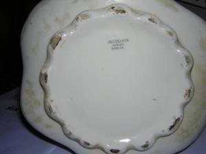 jarra de porcelana inglesa