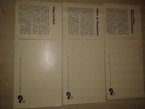 tarjetas Mar del Plata 3U. publicidad DIRECCION turismo