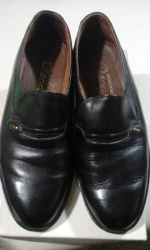 zapatos hombre cuero negro