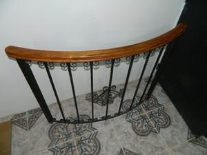 Reja baranda antigua de hierro forjado y posot class - Baranda de hierro ...