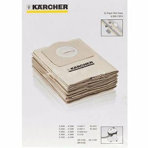 Bolsa Papel Para Aspiradora Karcher Wd  Y Wd3 X 5 Unid.