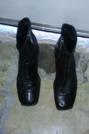 Botas de cuero impecables n 38