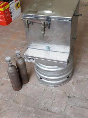 Chopera cerveza tirada para barril