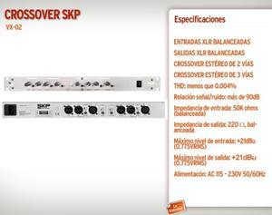 Crossover Skp Vx02 2 Vias Stereo 3 Vias Mono microcentro