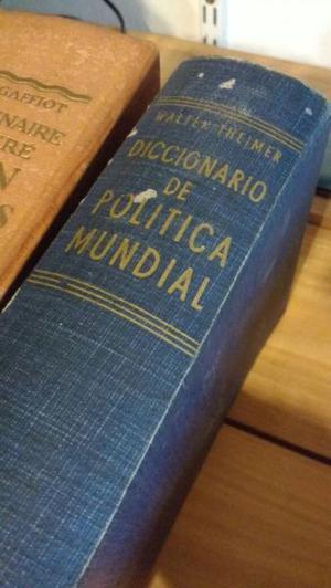 Diccionario de política mundial, Walter Theimer