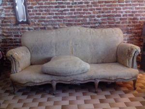 Juego de sillones antiguos estilo provenzal posot class - Sillones estilo frances ...