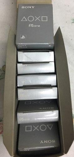 Memory X 7 Card Ps1 Playstation Ps One Nuevas En Caja Oferta