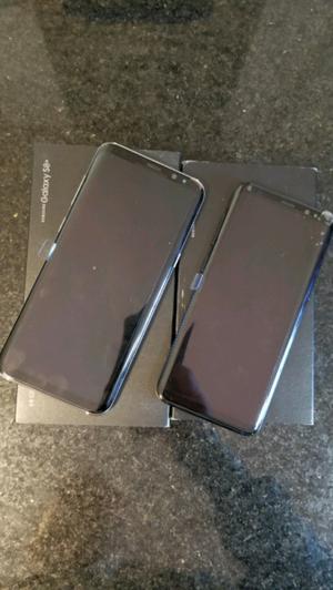 Samsung S8 y S8 plus nuevos!