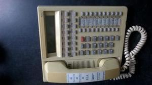 Telefono Nec Ete 16d-2 Nec Phone Armario Negro