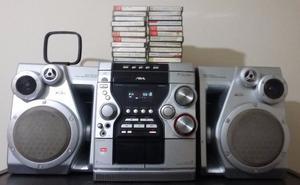 VENDO EQUIPO DE MUSICA AIWA MINI HI-FI COMPONENT SYSTEM SONY