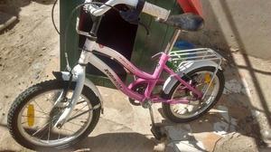 Vendo bicicleta de niña $700