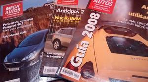 Vendo lote de revistas de autos Mega Autos - Crash -