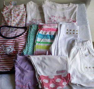 combo 11 prendas de nena talle 12 a 24 meses