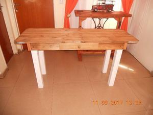 mesa rustica estilo campo