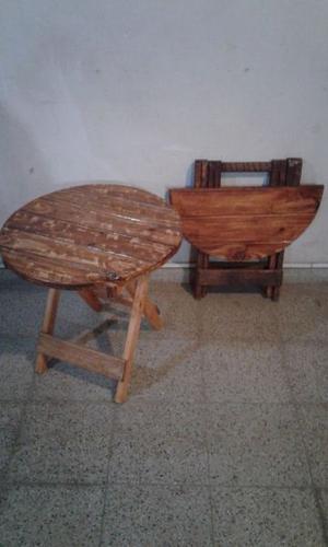 vendo mesas nuevas de madera