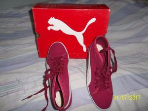 zapatillas abotinadas marca puma