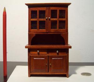 Alacena miniatura, escala 1:12, casa de muñecas